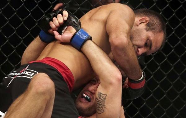 Rani Yahya (calção preto) é uma das atrações da Arena MMA (REUTERS/Ricardo Moraes)