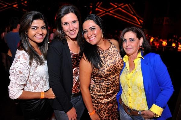 Vilany Pierote, Janaína Andrade, Catarina Campos e Lorena Márcia  (Luis Xavier de França/Esp. CB/D.A Press)