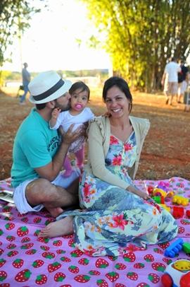 Fernando Teixerense, Maria Luiza Teixerense e Mariana Oliveira (Luis Xavier de França/Esp. CB/D.A Press)