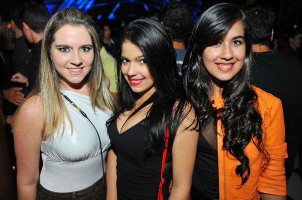 Raphaella Tidra, Vitória Leal e Ana Carolina Alves (Luis Xavier de França/Esp. CB/D.A Press)