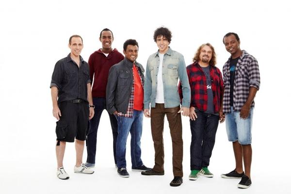 O grupo Sambô é uma das bandas que se apresenta no sábado (Guto Costa/Divulgação)