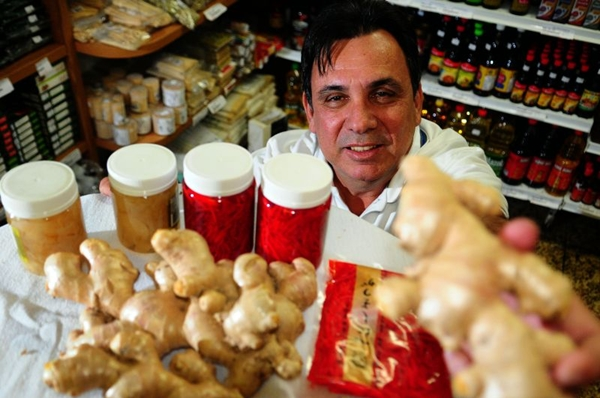 Gengibre é o eleito de Rogério Muniz, do La Palma (Bruno Peres/CB/D.A Press)