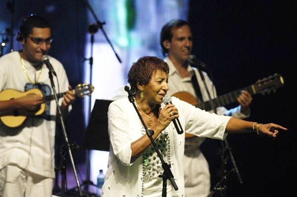 A cantora Leci Brandão é a principal estrela da festa na Aruc (Daniel Ferreira/CB/D.A Press)