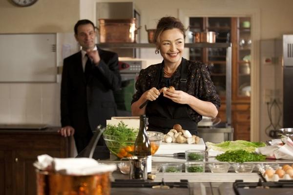 O filme é romanceado na história de Danièle Delpeuch, amiga da célebre Julia Child, que serviu ao ex-presidente François Mitterrand (Festival Varilux/Divulgação)