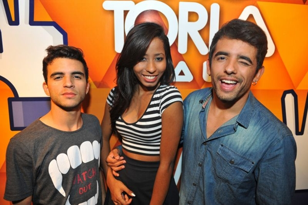Marcelo Teixeira, Sabrine Lustosa e Roberto Lacerda (Luis Xavier de França/Esp. CB/D.A Press)