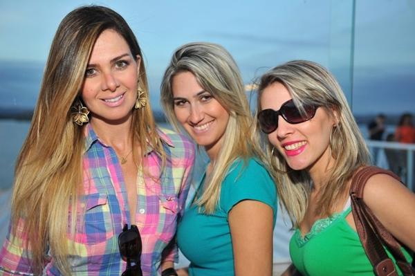 Ana Aguiar, Natasha Roriz e Vanessa Lacerda (Luis Xavier de França/Esp. CB/D.A Press)