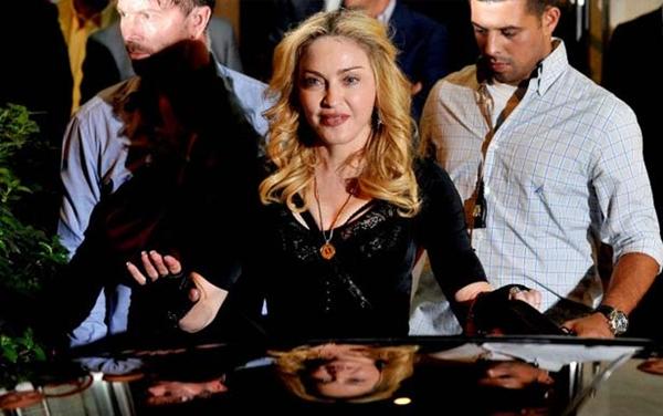 Madonna faturou US$ 125 milhões em 2013 e se tornou a celebridade mais bem paga do ano (Tiziana Fabi/AFP PHOTO)