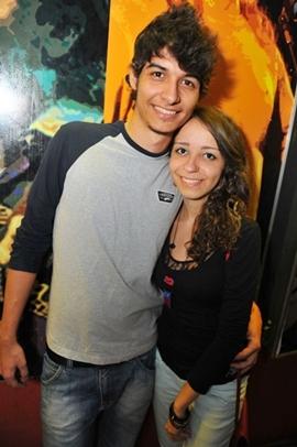Hanri Benício e Luiza Simão (Luis Xavier de França/Esp. CB/D.A Press)