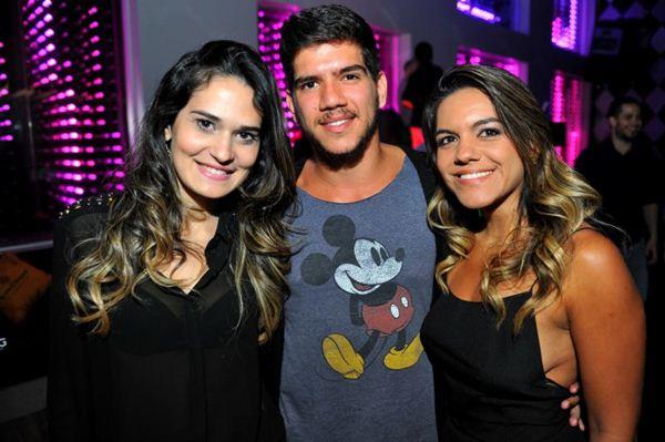 Rayza Viana, Daltro Dourado e Aline Santos (Luis Xavier de França/Esp. CB/D.A Press)
