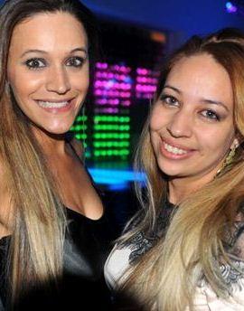 Layla Ferreira e Anna Emanuele (Luis Xavier de França/Esp. CB/D.A Press)