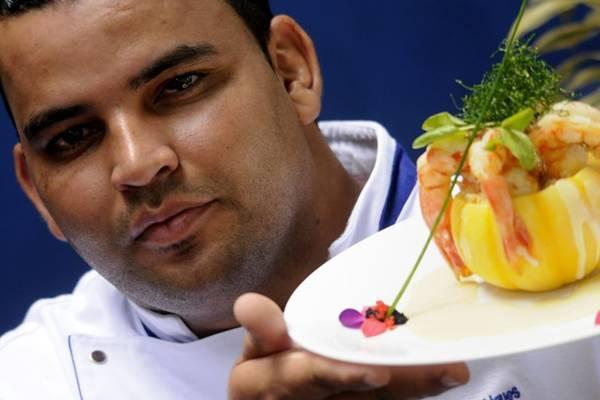 Rogério Rodrigues e o especial da chef: sextas e sábados no cardápio (Carlos Vieira/CB/D.A Press)