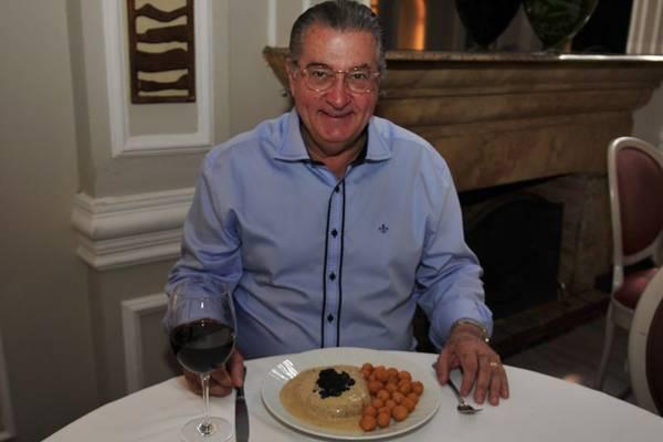 Marco Aurélio Costa: 'O blinis é pedido por quem tem o hábito de comer caviar' (Ed Alves/CB/D.A Press)