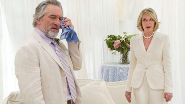 Don (Robert de Niro) e Ellie (Diane Keaton): obrigados a fingir que continuam casados, mesmo 10 anos após o divórcio (Imagem Filmes/Divulgação)