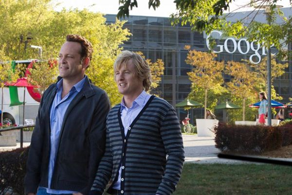 Billy (Vince Vaughn) e Nick (Owen Wilson): deslocados do mundo digital  (Fox Films/Divulgação)