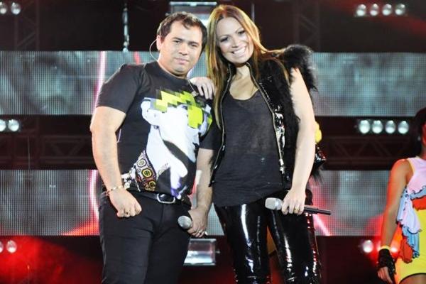 A banda, liderada por Solange Almeida e Xandinho, é um dos maiores fenômenos da música nacional (Alana Andrade/Divulgação)