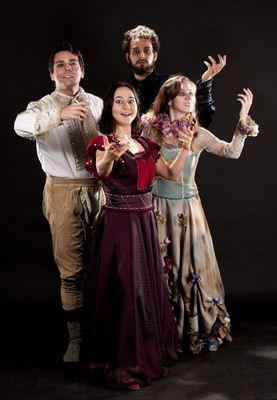 Romeu, Julieta, Hamlet e Ofélia: quarteto relembra amor e tragédia em momento  pós-morte (Thiago Sabino/Divulgação)