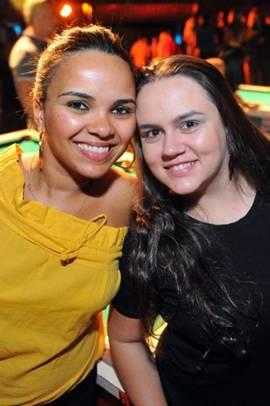 Mônica Moura e Raquel Louro (Luis Xavier de França/Esp. CB/D.A Press)