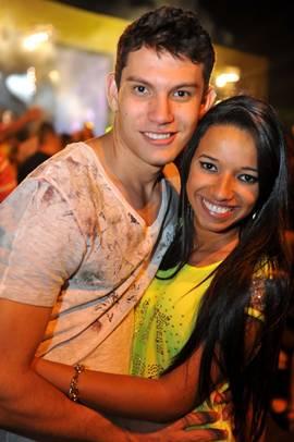 Luiz Felipe Assis e Katrinne Moura Ribeiro (Luis Xavier de França/Esp. CB/D.A Press)