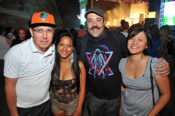 Sandro Ramos, Pamela Ramos, VJ Boca e Jenny Choe (Luis Xavier de França/Esp. CB/D.A Press)