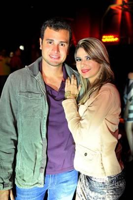 Reinaldo Maia e Nathália Lacerda (Luis Xavier de França/Esp. CB/D.A Press)