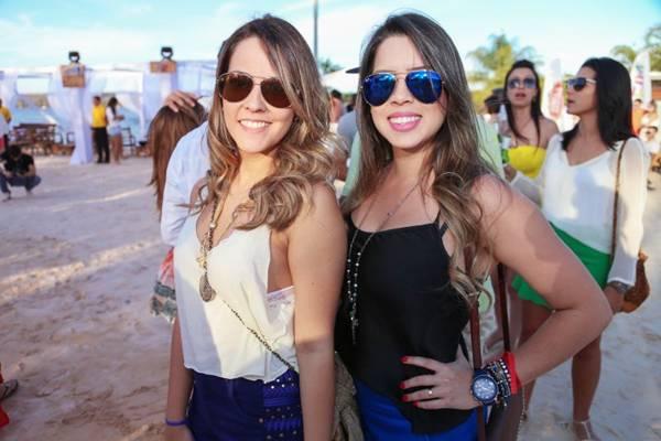 Janaina Cavalcante e Juliana Lara (Paulo Cavera/Divulgação)