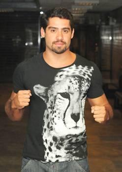 O ex-BBB é a principal atração da festa (Frederico Rozario/TV Globo)