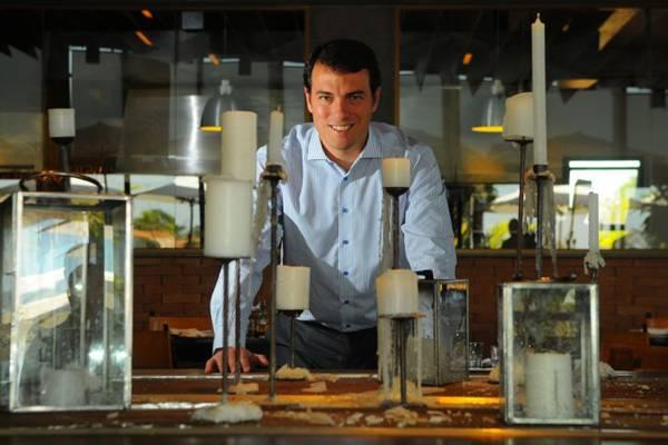 Guilherme Cunha Costa, proprietário do restaurante Rubaiyat em Brasília  (Janine Moraes/CB/D.A Press)
