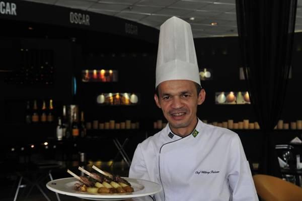 Willmys Pedrosa: o carré di agnello apresenta vários sabores em um só prato ( Ed Alves/CB/D.A Press)