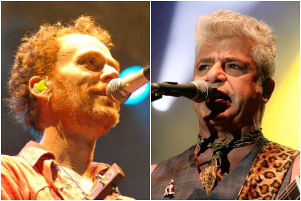 Os dois, aos 30 anos de carreira, se mantêm no mais alto patamar do pop rock nacional (Rômulo Juracy/Divulgação e Adonis Lucena da Silva/Divulgação)