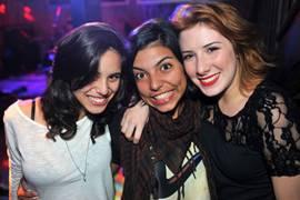 Juliana Rodrigues, Emília Wolf e Sarah Fialho (Luis Xavier de França/Esp. CB/D.A Press)