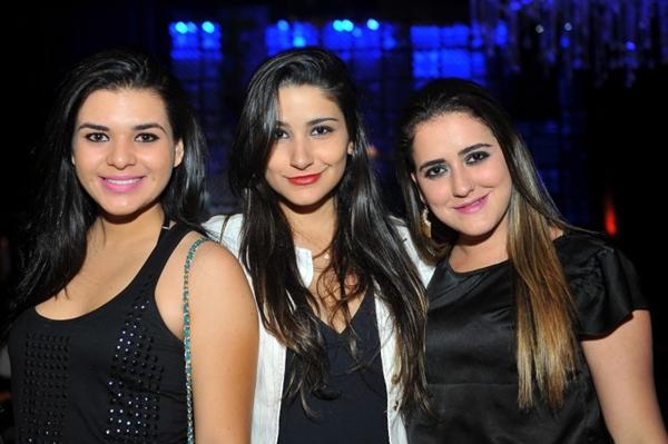 Ohanna Ganen, Joice Machado e Cássia Queiroz (Luis Xavier de França/Esp. CB/D.A Press)