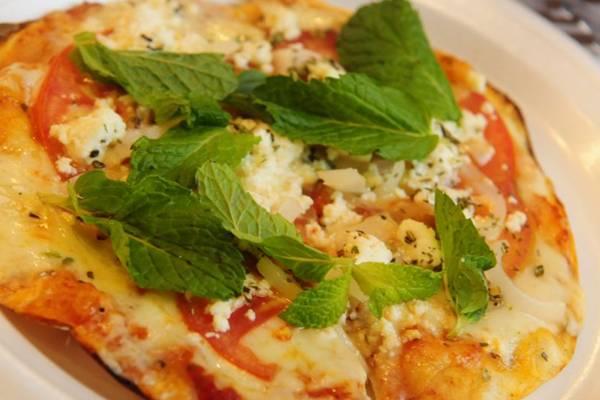Pizza festival foi criada especialmente para a festa cinematográfica  (Daniel Ferreira/CB/D.A Press - 21/9/12)
