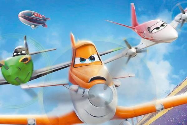 O protagonista, Dusty, tem medo de voar alto, mas quer participar de uma corrida de aviões (Disney Enterprises/Divulgação)