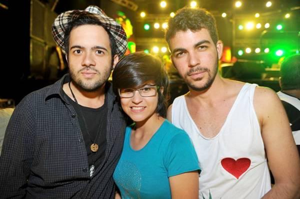 Rafael Matos, Gabi Carvalho e Pedro Russo (Luis Xavier de França/Esp. CB/D.A Press)
