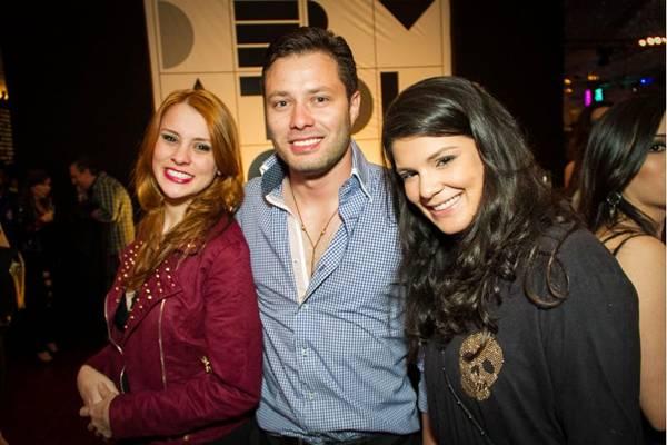 Renata Samorano, Allan Faleiro e Nadine Lobo (Gilberto Evangelista/Divulgação)