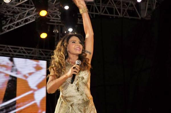 A cantora vai destacar ritmos nordestinos na apresentação (Lúcio Santos/Divulgação)