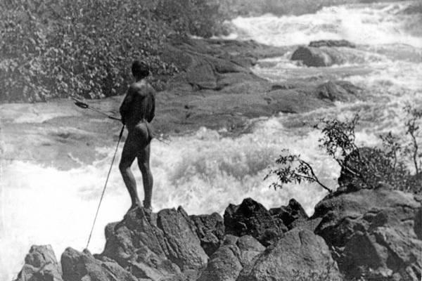 Cachoeira do Rio Branco Norte, que está no livro Sinais de Chegadas, de Odenir Pinto de Oliveira (CecíliaTsmori/Divulgação)