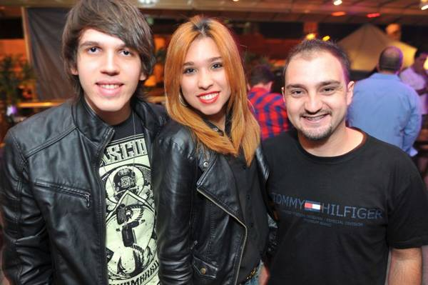 Matheus Luan, Mayara Stolle e DJ Paulo Ricardo (Luis Xavier de França/Esp. CB/D.A Press)