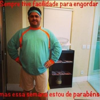 '#medidacertaErrada Dias melhores virão', escreveu (@cesarmenotti/Instagram/Reprodução)