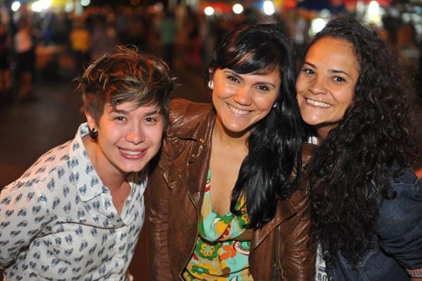 Carla Ferreira, Alexsandra Oliveira e Carmem Cecília Lima (Luis Xavier de França/Esp. CB/D.A Press)