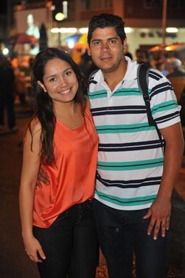 Fernanda Valverde e Israel Monteiro (Luis Xavier de França/Esp. CB/D.A Press)
