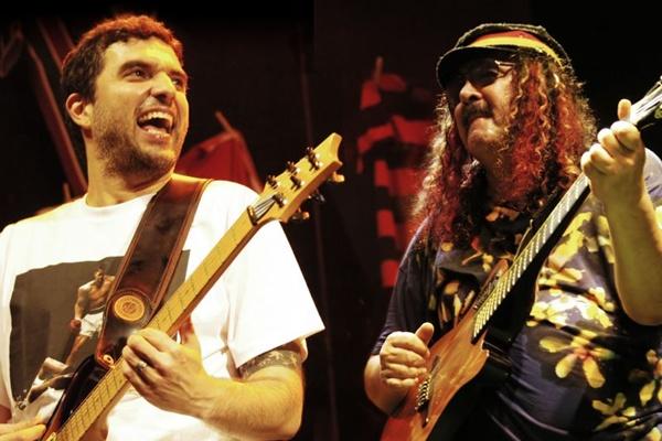 Davi e Moraes Moreira fazem o show chamado Pai e filho (Antonio Cesar/Divulgação)