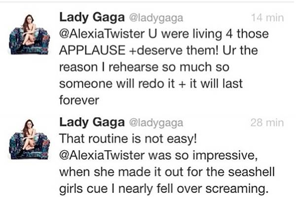 (Reprodução/Twitter@ladygaga)