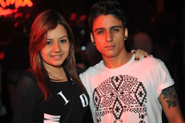 Giovanna Romão e Sérgio Luiz (Luis Xavier de França/Esp. CB/D.A Press)