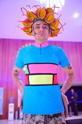 Performer Vanderlei Costa  (Luis Xavier de França/Esp. CB/D.A Press)
