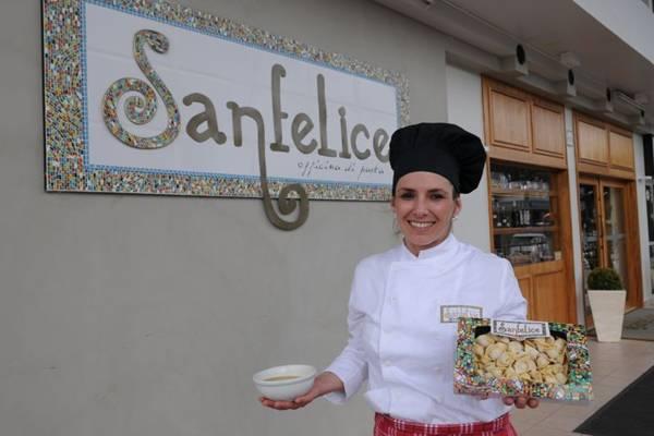 Sanfelice, de Myriam Carvalho, representa o vigor da boa cozinha na Asa Norte (Adauto Cruz/CB/D.A Press - 19/12/11 )