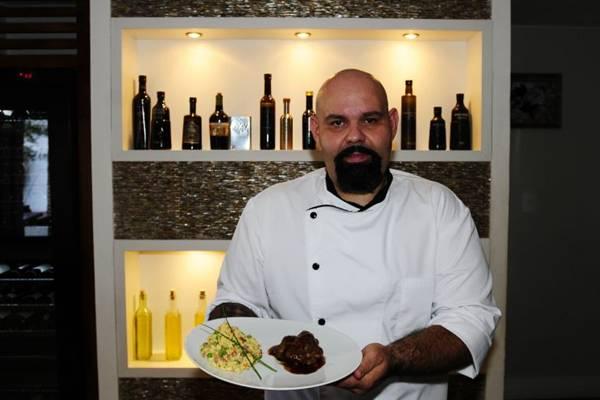 Chef Agenor Maia só abriu seu primeiro restaurante devido à localização privilegiada  (Carlos Moura/CB/D.A Press)
