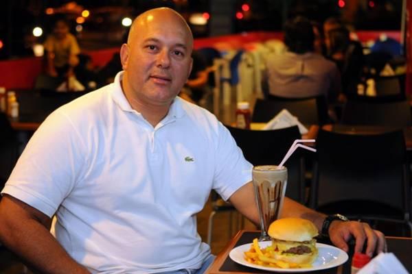 Luiz Ricardo Bonfim foi um dos primeiros a apostar na 412 Norte como ponto da gastronomia (Bruno Peres/CB/D.A Press)