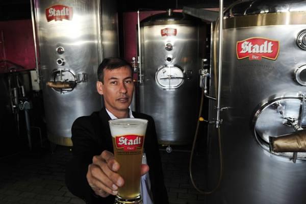 Klecius Celestino, do Stadt Bier: 'As carnes têm um gosto marcante e pedem uma cerveja mais encorpada e forte'. (Ed Alves/CB/D.A Press)