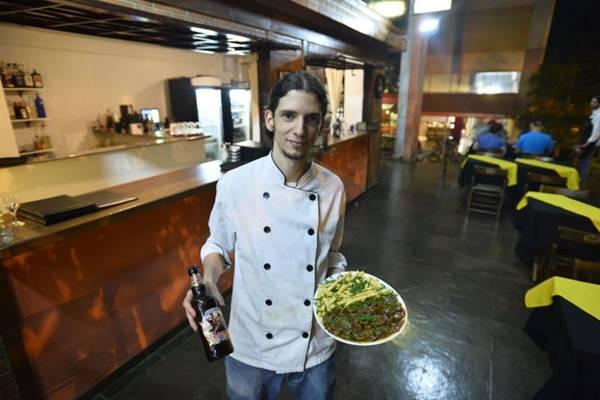 Felipe Gianni, do Korugar Bistrô: goulash com cerveja ale (Daniel Ferreira/CB/D.A Press)